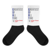 G.O.A.T - Greatest Of All Time™ Chicago Champs 2016 - Black foot socks