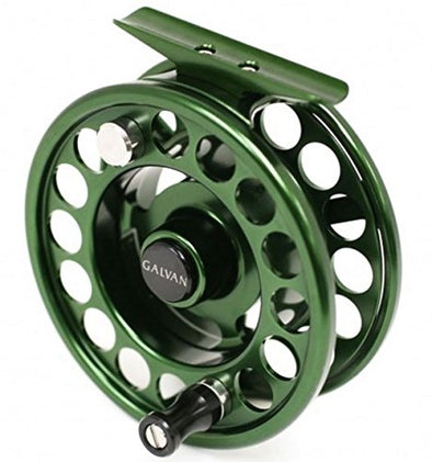 Galvan: Rush Fly Reel - ( Black, Clear, Green, Blue and Burnt-Orange)