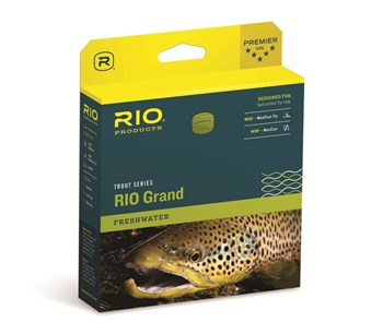 Trout Series RIO Grand Fly Line Pale Green / Light Yellow
