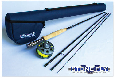 "Maxxon Outfitters ""Stone Fly""  Rod & Reel Combo"