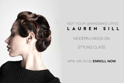 Not Your Grandma's Updo | April 16th 2018