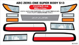Wrap Up Next 3D Decal for Abc Hobby S13 (0016-21)