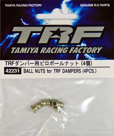 Tamiya Ball nuts for TRF Dampers (4pcs)