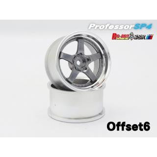 RC-ART SSR SP4 Titan Silver +6