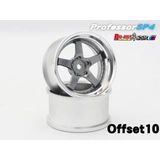RC-ART SSR Professor SP4 Titan Silver +10