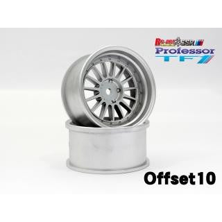 RC-ART SSR Professor TF1 offset 10 Matt Silver (2pcs)