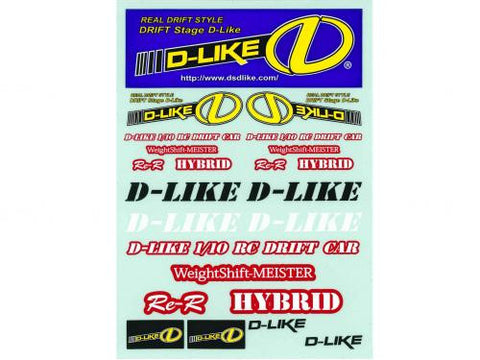 D-Like ReR Hybrid Decal set