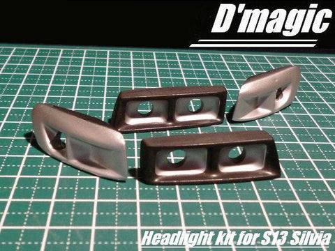 Dmagic front headlight kit for s13 silvia