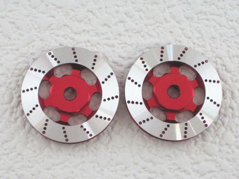 RC926 Aluminum Wheel Disc RED (KN-WH03RD)