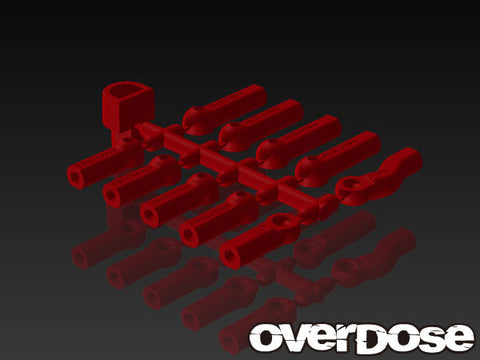 Overdose HD Ball Cap Set RED OD1584