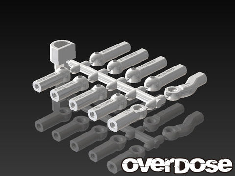 Overdose HD Ball Cap Set WHITE OD1585