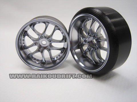 TopLine SSR Agle Minerva wheel 27mm CHROME +6