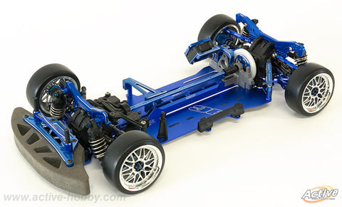 Active Hobby Aluminum CNC Chassis Conversion (Blue)