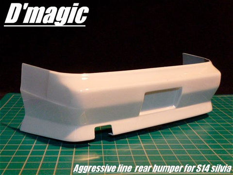 Dmagic aggressive line s14 rear bumper