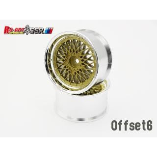 RC-Art SSR Formula Mesh Gold +6
