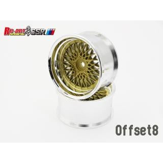 RC-Art SSR Formula Mesh Gold +8