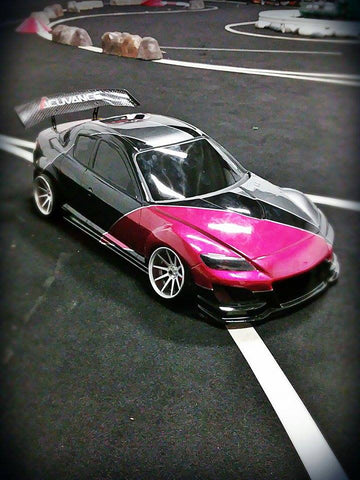 D-Like Mazda RX-8 Clear Lexan Body