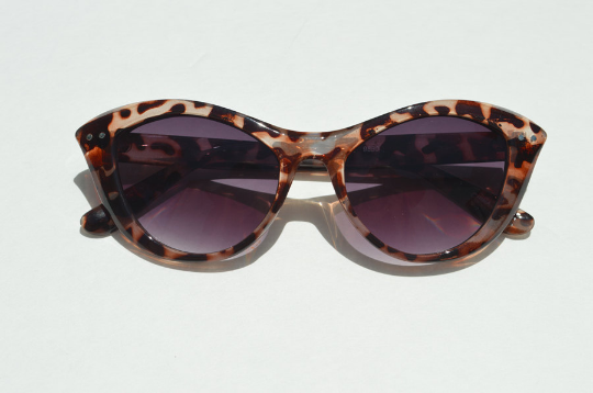 Cat Eyes sunglasses sleek front view