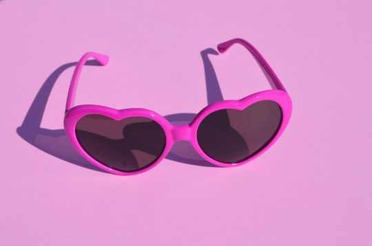 Heartshape sunglasses