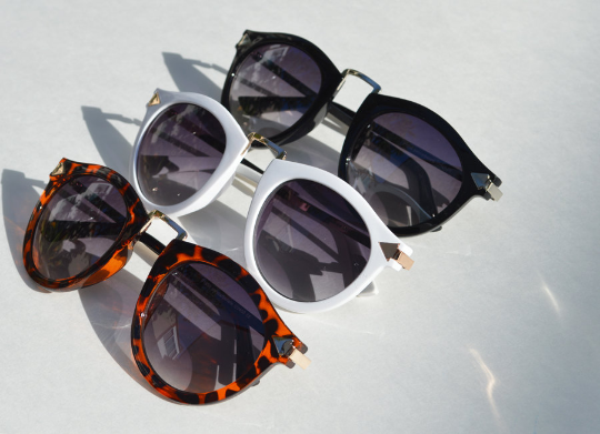Helter Skelter Sunglasses combo view