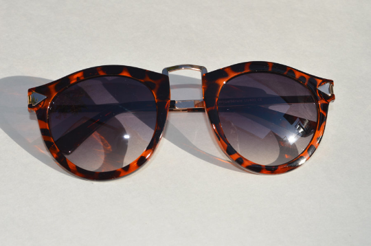 Helter Skelter Sunglasses front view