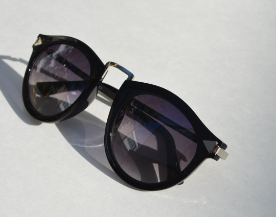 Helter Skelter Sunglasses side view