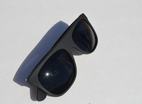 Wayfarer Matte Sunglasses in black main view