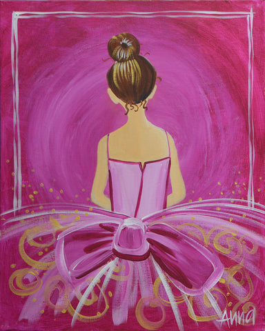 Studio Painting Party - Ballerina/Ballgown