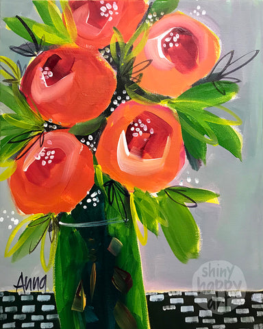 Studio Painting Party - Gift Bunch - SAT 17 MAR 1pm