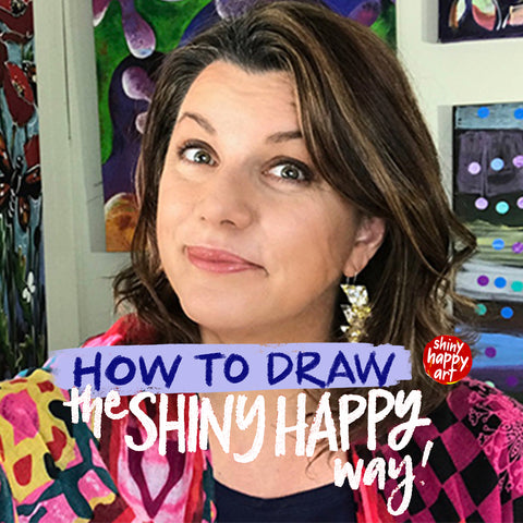 How to Draw the Shiny Happy Way