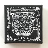 A Cup of Love - Original Art Mini