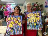 STUDIO PAINTING PARTY - Irises - SUN 16 SEP, 1-4PM