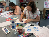 Shiny Happy Brush Lettering - SUN 10 DEC - A Wonder Workshop