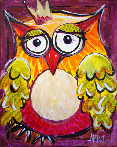 Studio Painting Party (Encore) - Wise Owl