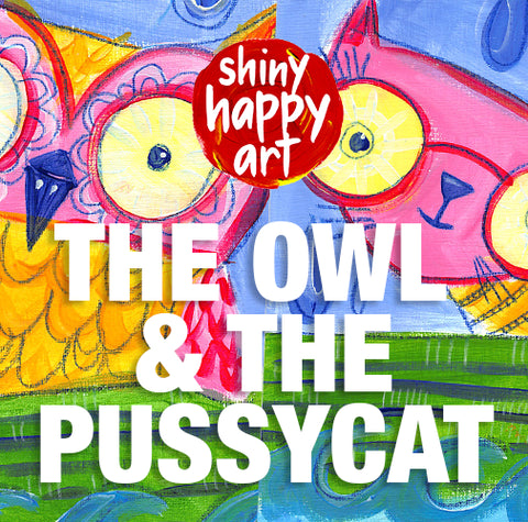 The Owl & The Pussycat Online Paint Along