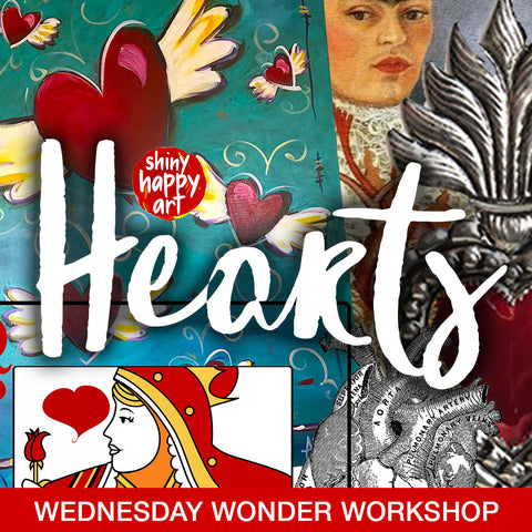 Online Wonder Workshop - Hearts