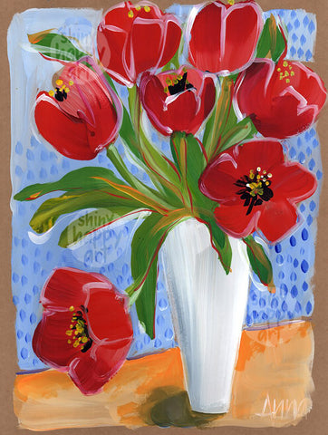SHA Summer Series #08 - Tulips  |  30.5x22.8cm