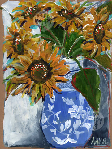 SHA Summer Series #12 - Sunflowers  |  30.5x22.8cm
