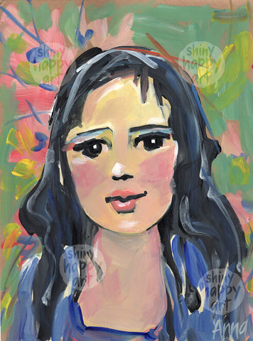 SHA Summer Series #11 - Portrait  |  30.5x22.8cm