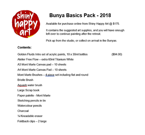 Shiny Happy Art Escapes - Basics Pack