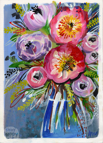 The Pink Flower  |  26x36cm