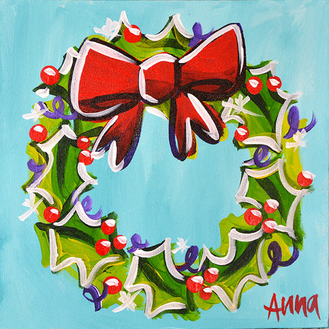 Online Paint Along - Everlasting Wreath