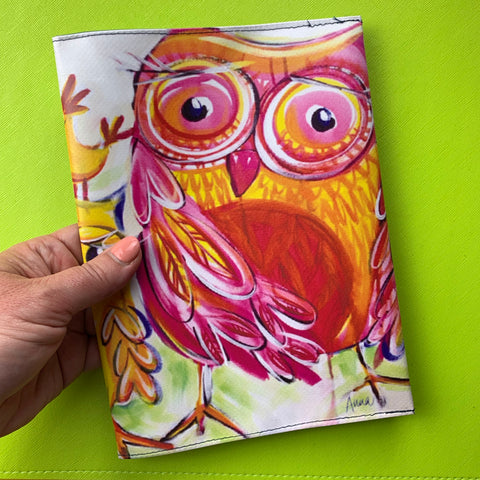 Shiny Happy Owls Book Cover