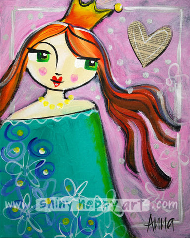 Studio Painting Party - WINSOME PRINCESS (encore) - SAT 10 MAR, 1-4pm