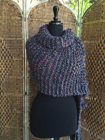 """Pueblo"" - Rectangle Ruffle Wrap"