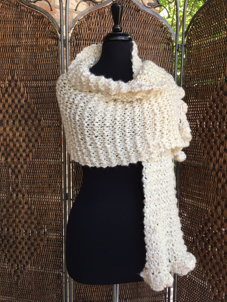 """Deco"" - Rectangle Ruffle Wrap"