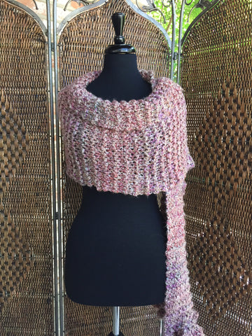 """Quartz"" - Rectangle Ruffle Wrap"