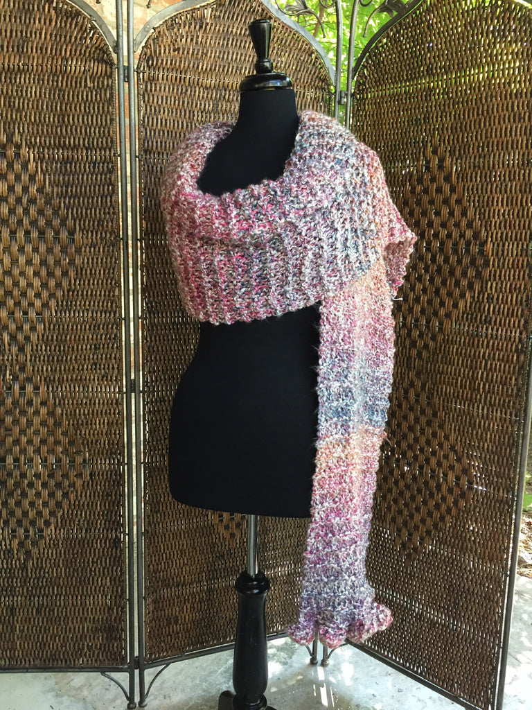 """Mimosa"" - Rectangle Ruffle Wrap"