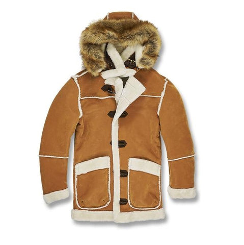 7690ab5885bf JORDAN CRAIG SHEARLING JACKET BURNT ORANGE