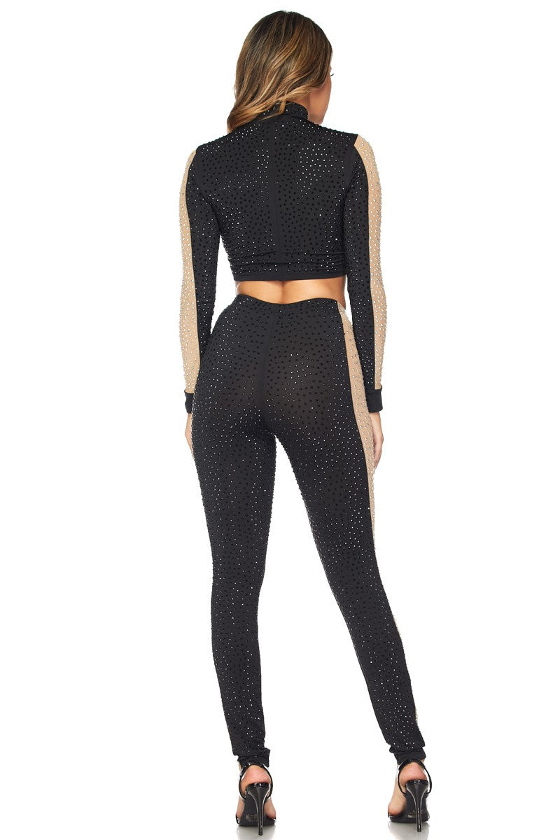 WOMENS BLACK 2 PIECE - HERA COLLECTION